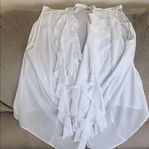 Dressy white blouse